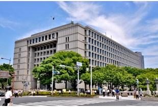 大阪市役所 850m