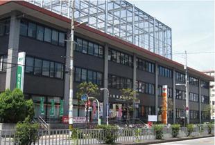 城東郵便局 800m