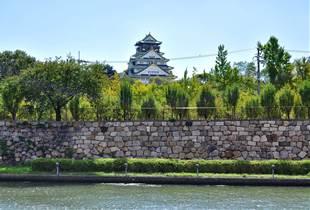 大阪城 950m