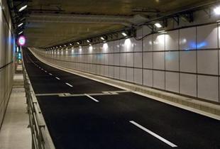 南港咲洲トンネル 350m