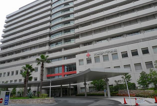 大阪赤十字病院 600m