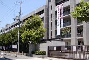 大阪市立都島工業高校 650m