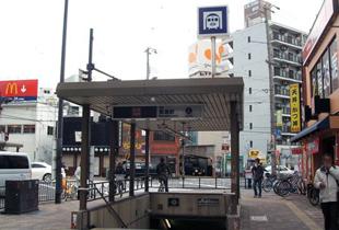 都島駅 600m