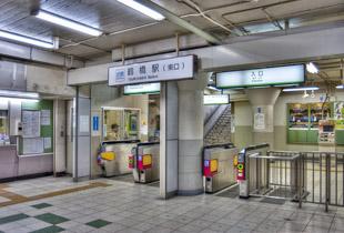 近鉄 鶴橋駅 850m
