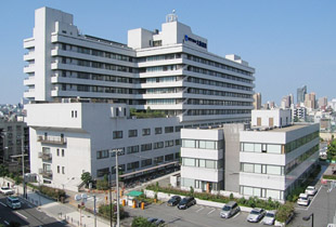 NTT西日本大阪病院 1100m