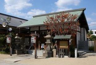 都島神社 750m