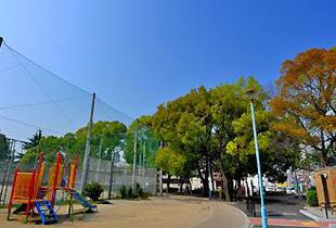 鯰江公園 100m