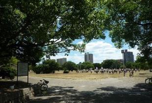 大阪宮跡 750m