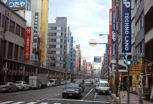 日本橋電気街 50m