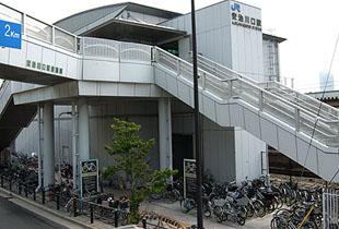 JR桜島線 安治川口駅 650m