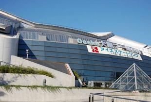 大阪プール アイススケート場 900m